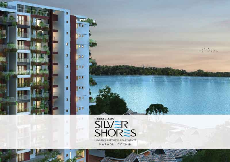 Hebron Silver Shores - Luxury Lakeview Apartments in Cochin, Kerala
