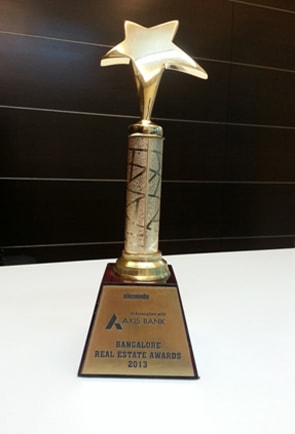 COMPANY EXCELLENCE AWARD FOR FASTEST GROWING INDIAN CONSTRUCTION