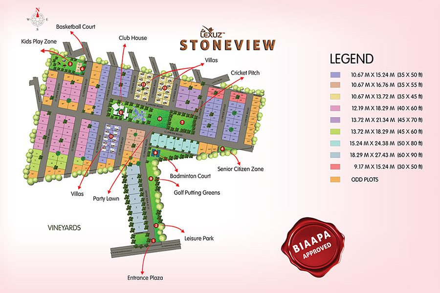 Lelexuz Stoneview Plot - Near nandi hills